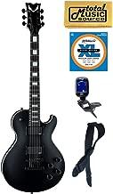 Dean Thoroughbred Stealth Black Electric Guitar w/EMG's FREE Strings Tuner Strap