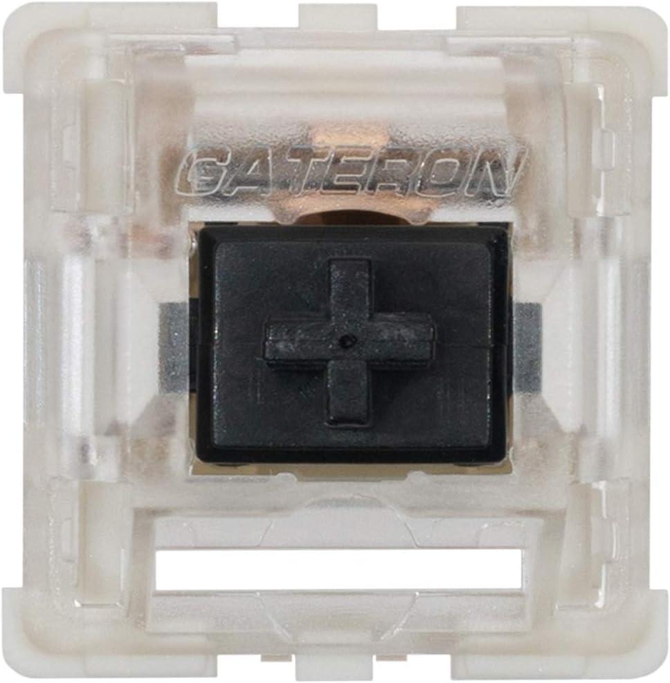 Reemplazo 65 Keyswitchs Black Gateron Ks-9 Teclado Mecanico