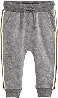 HUAER& Baby Boys Sweatpants Toddler Cotton Drawstring Elastic Band Jogging Pants
