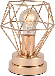 COTULIN Table Lamp,Modern Desk Lamp with Hollow Out Shade for Living Room Bedroom,Gold