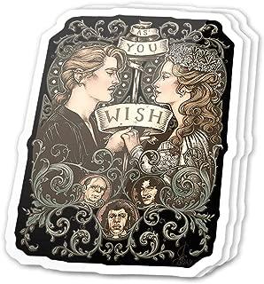 Cool Sticker (3 pcs/Pack,3x4 inch) One True Love Fairy Tale Fan Art Stickers for Water Bottles,Laptop,Phone,Teachers,Hydro Flasks,Car