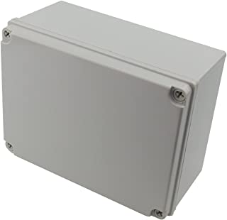 "Ogrmar Plastic Dustproof IP65 Junction Box DIY Case Enclosure (8""x 6""x 4"")"
