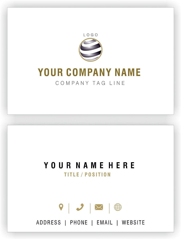 Entwerfen Sie Ihre eigene personalisierte Visitenkarten Kundenspezifische Kundenspezifische Kundenspezifische Professional Company Logo Visiting Card- Front und Rückseite B01EUKV2MA | Auf Verkauf  91a54d