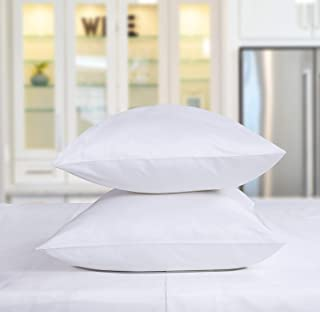 Indiana Linen 1500 Thread Count Hotel Quality Standard Size 2 Piece Pillowcases 100% Egyptian Cotton Set of 2 Pillow Cases (Standard 20
