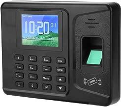 Fingerprint Attendance Machine 2.8 inch Color TFT Screen Voice Prompt Biometric Fingerprint Time Recorder Employee Payroll Recorder Machine(US)