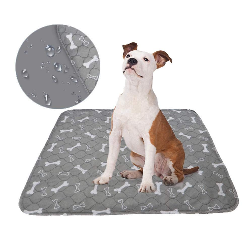 Reusable Pee Pads For Dogs,Washable Puppy Training Pee Pads Absorbent Wee Pet Dogs Cats Pee Mat Mattress Protector For Potty Training Whelping,Incontinence,Travel