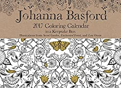 Johanna Basford 2016-2017 16-Month Coloring Weekly Planner ...