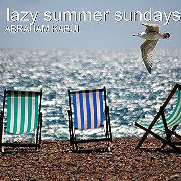Lazy Summer Sundays