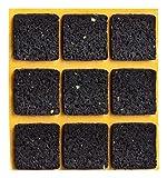 haggiy peha Anti-Rutsch-Pad selbstklebend, quadratisch 30x30 mm - Rutschhemmer für Möbel, Sofas, Tische (9 STK.)