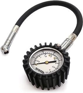 TireTek Flexi-Pro - Manómetro de presión de neumáticos, resistente, para coche y moto, 60 psi