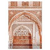 ZXBF Boho Paisaje Pared Arte Desierto Viaje impresión Marrakech Cartel Camello Lienzo impresión Pintura Imagen de Pared Sala Sala de Estar marroquí decoración