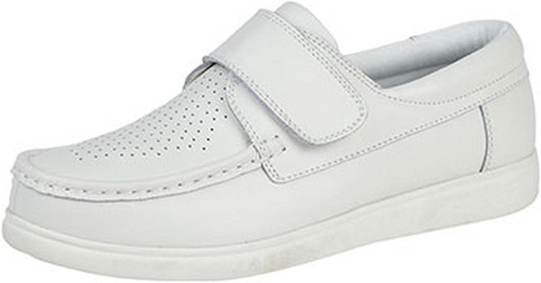 Dek - Zapatos de Piel sin Cordones Bowling para Chico Hombre