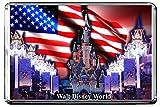 GIFTSCITY C395 WALT DISNEY WORLD FRIDGE MAGNET USA TRAVEL PHOTO REFRIGERATOR MAGNET