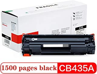 Compatible Toner Cartridge Replacement for CB435A, for HP P1005 P1006 Universal Canon CRG-312/712/912 LBP3018 3108 3010 Black 1500 Page Non-Leakage Office Supplies