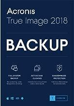 acronis true image 2018 restore