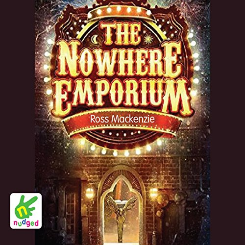 The Nowhere Emporium audiobook cover art