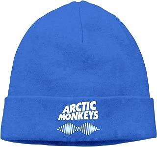 GabrielR Arctic Monkeys Cuffed Beanie Hat Skull Knit Hat Snowboard Hat for Men and Women Black