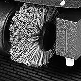 Wohnling Schuhputzmaschine automatisch mit 3 Bürsten System elektrisch Schuhputzautomat hoher Comfort Schuhputzer Schuh Poliermaschine mit Gummimatte - 4