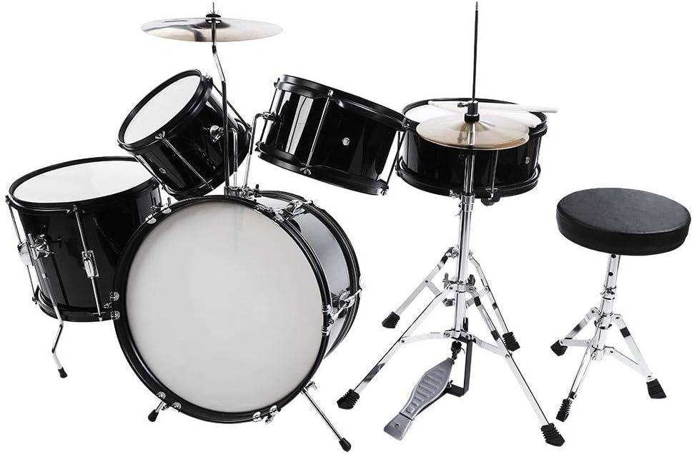 Kid At the price Drum Kit 5pieces New mail order Junior Children Stool Drumsticks P