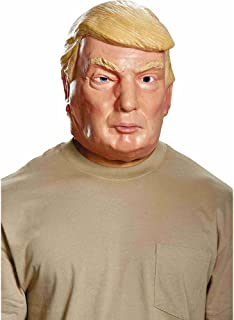 Disguise Mens 16947 Donald Trump Deluxe Mask Adult-Sized Costume