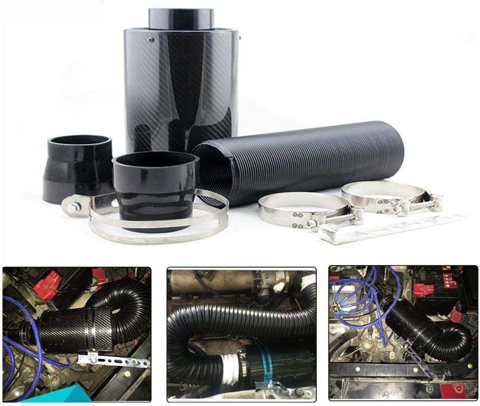 HKPKYK Car air Filter,76mm Universal Air Cold Filter Virginia Beach Mall Online limited product Induc