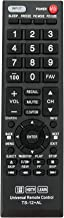 New Universal Replacement Remote Control TS-12+AL for Almost All Toshiba TV, Smart TV,CT-90326 CT-90302 CT-90275 CT-90 CT-90366 CT-90325 CT-90329 CT-8037
