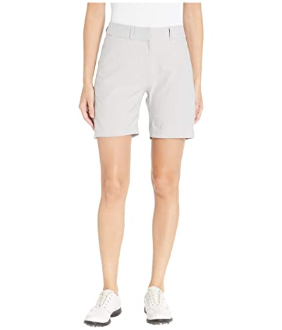 adidas Golf Club 7 Solid Shorts (Grey Two) Women