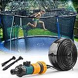 Trampolin, Sprinkler, 15 m, Wasserpark, Trampolin, Bewässerungsschlauch, für Trampoline