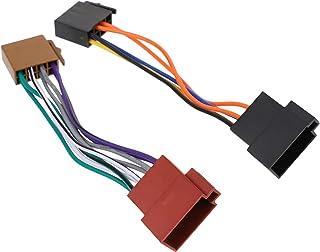 FAVOMOTO 1 par Cablagem Fio Adaptador de Antena de Rádio Estéreo Do Carro Substituição Do Dispositivo de Música de Áudio D...