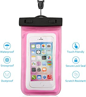 comprar comparacion Funda Impermeable MóVil - 5.5 Pulgadas Waterproof Case Universal Caja del TeléFono Estuche Estanco Al Agua Duradero – Haoxuan