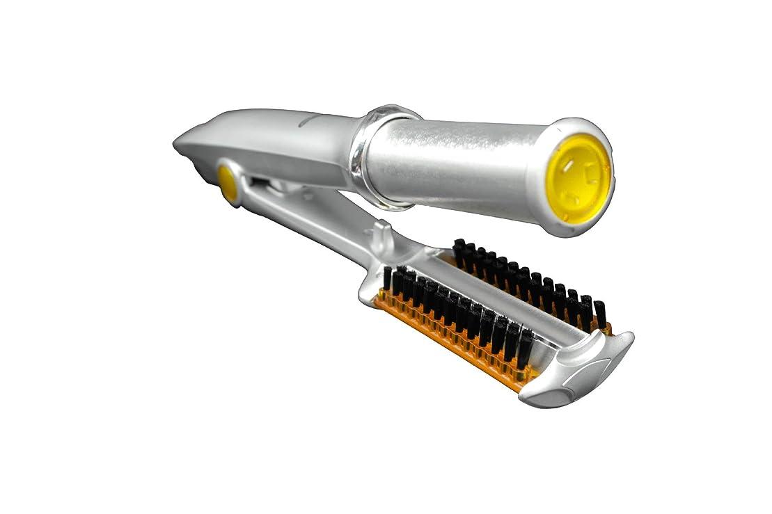 独占合理化合成360度回転アイアンヘアカーラー - ストレート/デジタルパーマ/カール 自動ヘアカーラーストレートヘアスプリントグリーン合金多機能ストレートストレートヘアカーラー