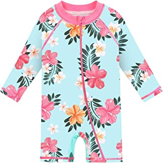 Baby/Toddler Swimsuit Long Sleeve One-Piece Swimwear Rashguard