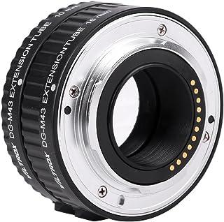 Topiky Set di Anelli Adattatore per Tubo prolunga Macro per Fotocamera Senza Specchio Fujifilm Supporta unesposizione lenta