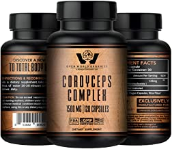CORDYCEPS Complex - Cordyceps Sinensis - Reishi - Lions Mane - Immunne Support and Booster -by OPEN WORLD ORGANICS