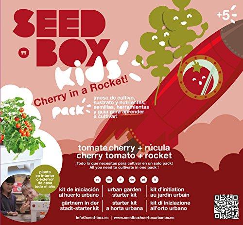 SeedBox SBKCR - Huerto Urbano Tomates Cherry