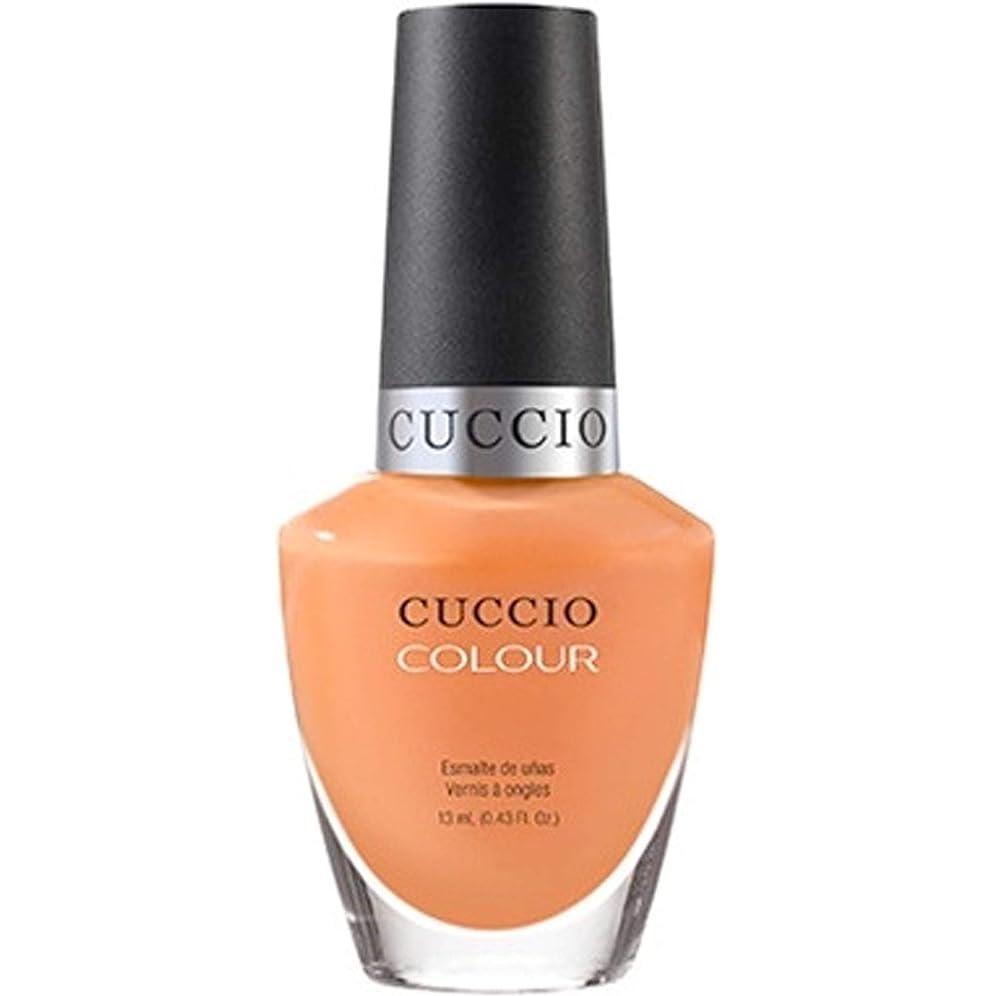 オリエンテーション意見導入するCuccio Colour Gloss Lacquer - Very Sherbert - 0.43oz / 13ml