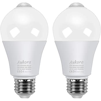 Amazon Com Ameriluck Dusk To Dawn Led Light Bulb Kit With Remote Motion Activated Sensor Multiplly Pair Able 60w Equivalent A19 Color Temp Adjustable Kitchen Dining