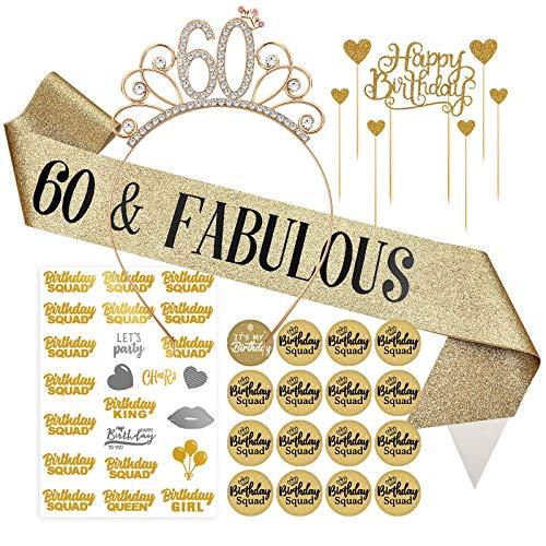 Banda 60 Cumpleaños  marca ERTREE