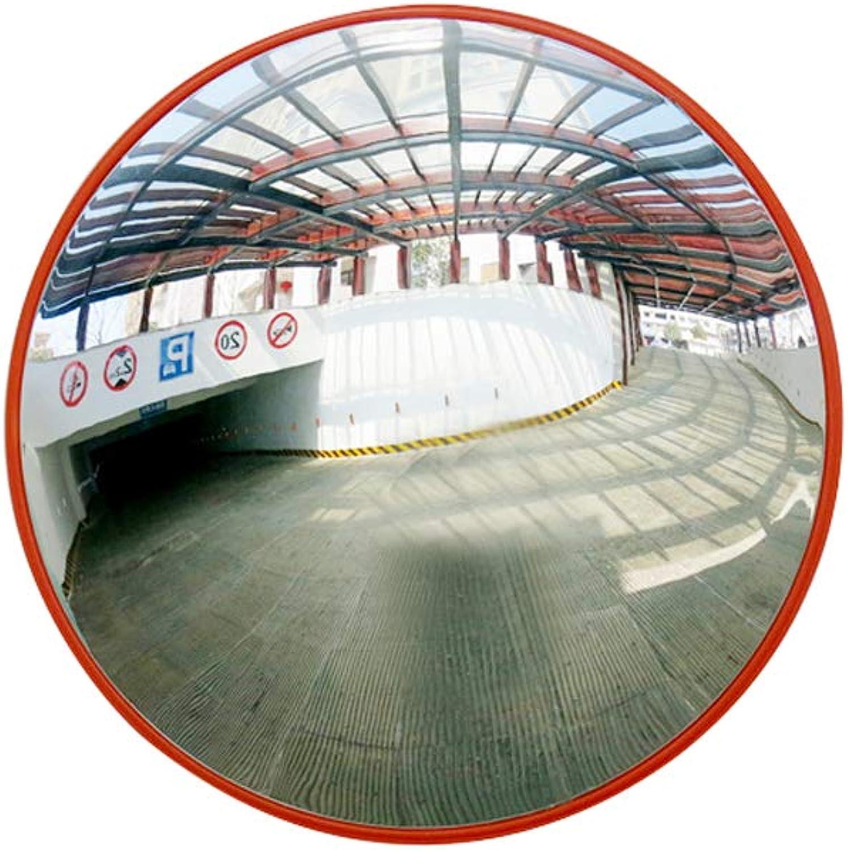 Convex mirror, Indoor Traffic Mirror Road Turning Spherical Supermarket Anti-Theft Safety Convex Mirror 0517P (Size   45cm)