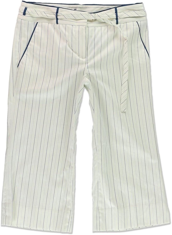 Bcbg Womens Amanda Crop Casual Trousers