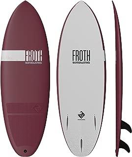 Boardworks Froth! Soft Top Surfboard | Wake Surf Surfboard | 4'6
