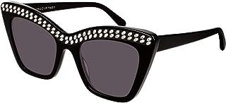 Stella McCartney Lunettes de Soleil SC0167S BLACK/GREY 52/20/145 femme