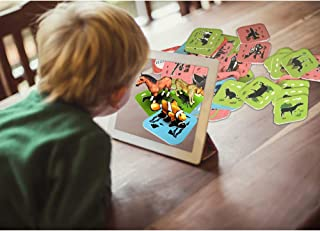 Anke's 4D Flash Cards Include Animal & Fruit & Vegetables & Vehicle-108 Cards