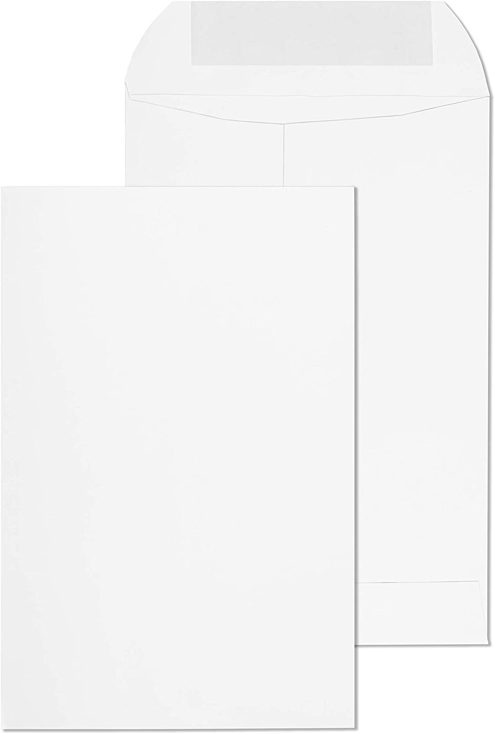 EnDoc 6x9 Open 2021 autumn and winter new End Self Max 50% OFF Seal Heavy - 28lb Envelopes Bright White