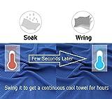 Zoom IMG-1 barrageon 3 pezzi asciugamano raffreddamento