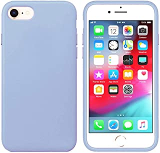Matte Plastic Flexible Protection Cover for Apple iPhone 7, iPhone 8 (Sky Blue)