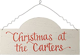 The Christmas Cart Personalised Gifts & Keepsakes Personalised Arched Country Christmas Wood Plaque | Available in 3 varie...