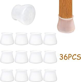 color marr/ón Sourcingmap Almohadilla protectora para patas de sillas