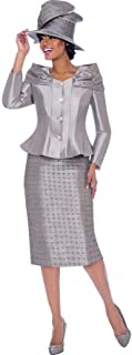 7792 Women's Occasion Church Skirt Suit (Hat is not...