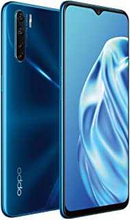 "OPPO CPH2021 A91 Smartphone (Unlocked Version), 48MP Ultra Wide Angle Macro Quad Camera, 6.4"" AMOLED Screen, 4025mAh + VOO..."